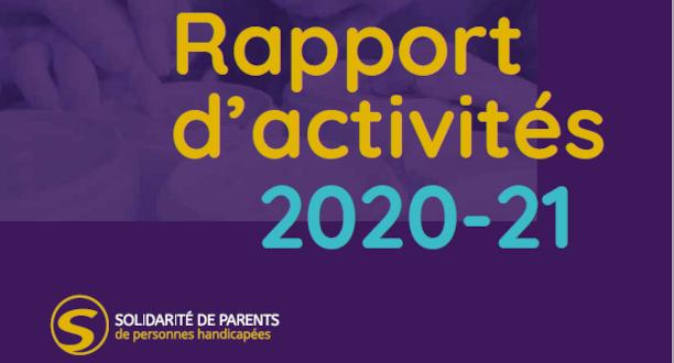 Rapport d'activités 2021 -21 bannière